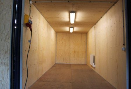 Container 20 fot isolerad m.belysning & elcentral